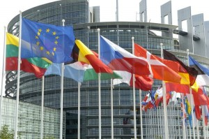 Fahnen_Europaparlament